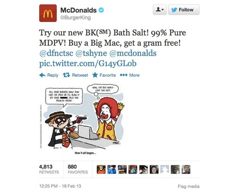 Burger King Twitter Account Hacked, Hilarity Ensues | Hacking, Reverse Engineering, Software, Scripts, Coding, Guides | Scoop.it