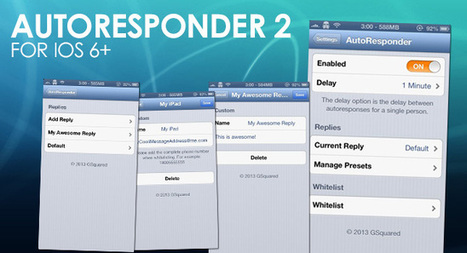 'AutoResponder 2' hits Cydia, brings iOS 6 support with 50% off | iPhone-Developers | Jailbreak News, Guides, Tutorials | Scoop.it