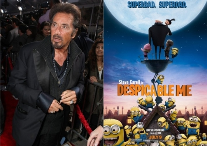 Al Pacino Get Animated, Replaces Javier Bardem As Villain Of 'Despicable Me 2' | Machinimania | Scoop.it