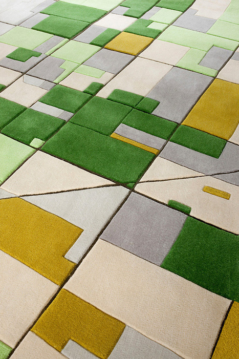Aerial photos of abstract landscapes transformed into carpets | Maps | Scoop.it