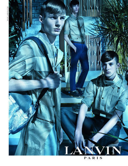 Lanvin Men's Fashion Campaign: Spring-Summer 2013 ~ Men Chic- Men's Fashion and Lifestyle Online Magazine | male models | Scoop.it
