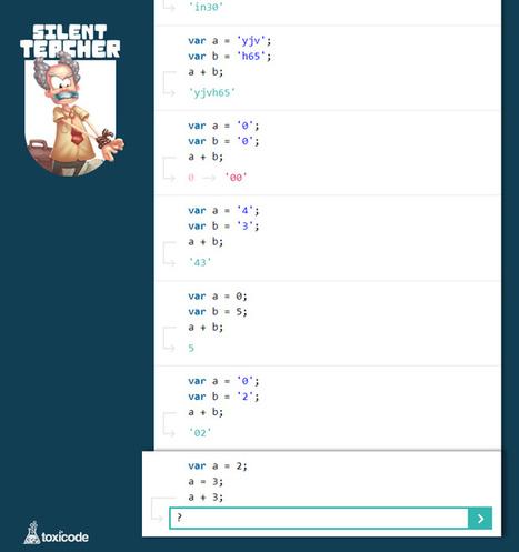 Silent Teacher, un jeu intuitif pour apprendre à coder en silence | L'enfant et les écrans | Scoop.it