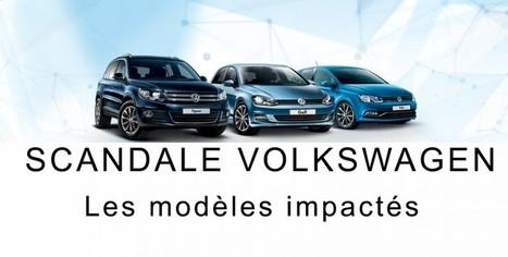 Quels sont les modèles concernés par le scandale Volkswagen ? - Belles Allemandes | Actus vues par TousPourUn | Scoop.it
