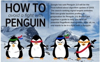 Your Web Traffic vs. Google Penguin 2.0 | Web Marketing Store | Internet Marketing Blog | Scoop.it
