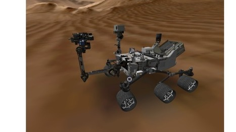 Review: NASA's Curiosity App for Windows 8 lets you explore Mars rover in detail | PCWorld | Astronomy News | Scoop.it
