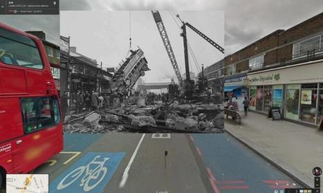 Concordance des temps, la Seconde Guerre mondiale sur Google Street View - Le Monde | Et l'histoire-géo dans tout ça ??? | Scoop.it