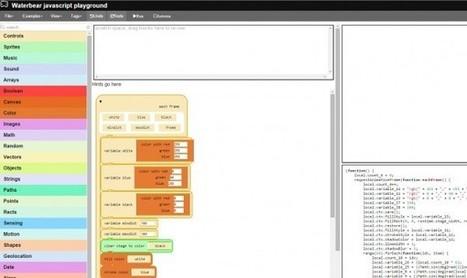 Waterbear, una aplicación web para ayudar a enseñar a programar | Education and TICS | Scoop.it