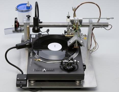 Avec le Vinyl Recorder T560, gravez vos vinyles vous-même ! | Paper Rock | Scoop.it