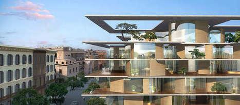 Via Boncompagni, la trasformazione è 'made in China': arrivano le case con il ... - RomaToday | Facciate, facades, vertical green wall, colorful facades, wall street art, facades led media light, projection  mapping | Scoop.it
