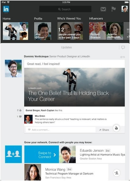 LinkedIn Integrates With iPhone Mail: This Week in Social Media | SocialMedia_me | Scoop.it