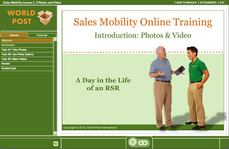 Sales Mobility Training - Elearning Examples | E-Learning Examples | Scoop.it