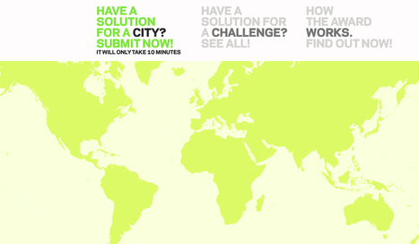 LIVING LABS GLOBAL AWARD 2012 | Futurable Planet: Answers from a Shifted Paradigm. | Scoop.it