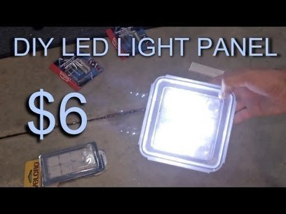 DIY LED Lighting for film, dslr video and photography - YouTube | DSLR video and Photography | Scoop.it