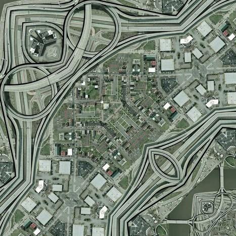 Topografia recursiva: geo-grafismos | geografia online | clip | Scoop.it