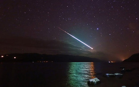 Meteor mistaken for sinking ship's distress flare | Quite Interesting News | Scoop.it