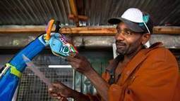 Kenyan company turns sea garbage into colourful toys | The Future of Waste | Scoop.it