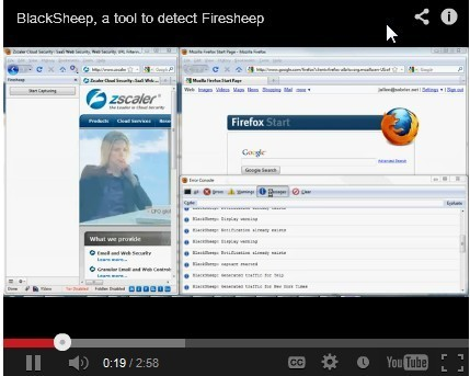 Zscaler Research: BlackSheep - A Tool to Detect Firesheep | ICT Security Tools | Scoop.it