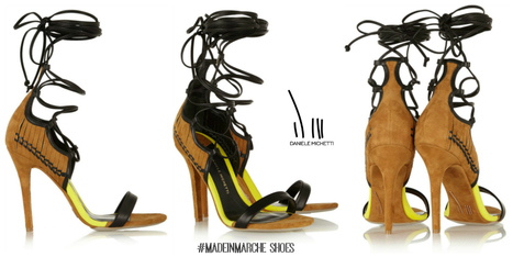 #MadeInMarche Shoes: Sandals DANIELE MICHETTI SS2015 with a touch of Roman's Style | Le Marche & Fashion | Scoop.it