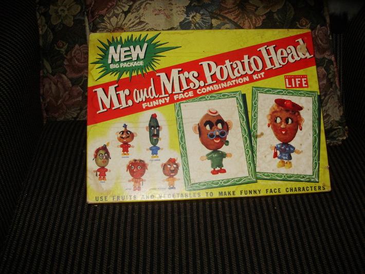 VINTAGE MR. POTATO HEAD GAME!! | Antiques & Vintage Collectibles | Scoop.it
