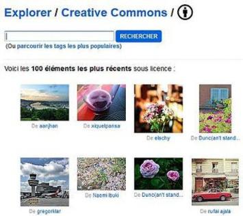 Trouver des images libres de droits sur Flickr | TIC et TICE mais... en français | Scoop.it