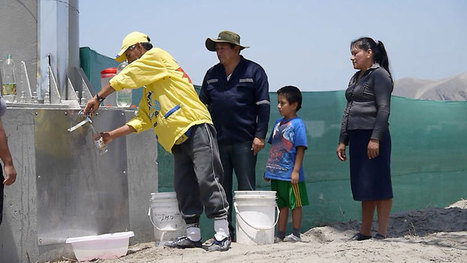 a billboard in peru creates clean drinking water from air humidity | Tracking Transmedia | Scoop.it