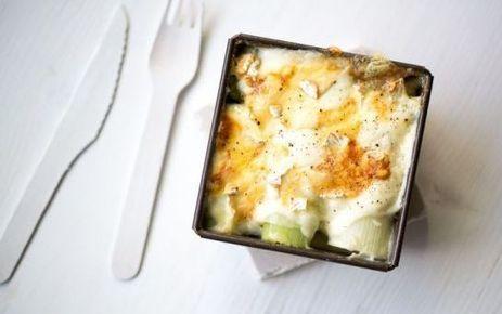 Gratin de poireaux au Brie de Meaux | thevoiceofcheese | Scoop.it