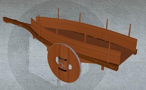 O Carro galego en 3D con Sketchfab | tecno4 | Scoop.it