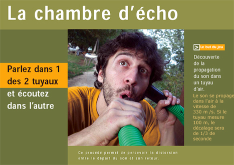 Chambre d'écho | DESARTSONNANTS - CRÉATION SONORE ET ENVIRONNEMENT - ENVIRONMENTAL SOUND ART - PAYSAGES ET ECOLOGIE SONORE | Scoop.it