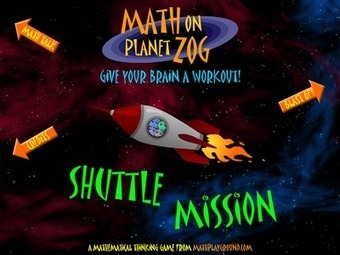 Shuttle Mission Math - An Algebra App to Support Visual Learners | Math, Technology and UDL:  Closing the Achievement Gap | Scoop.it