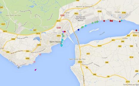 Marine Traffic - Carte en temps réel des navires | Cartes et Insolites | Scoop.it