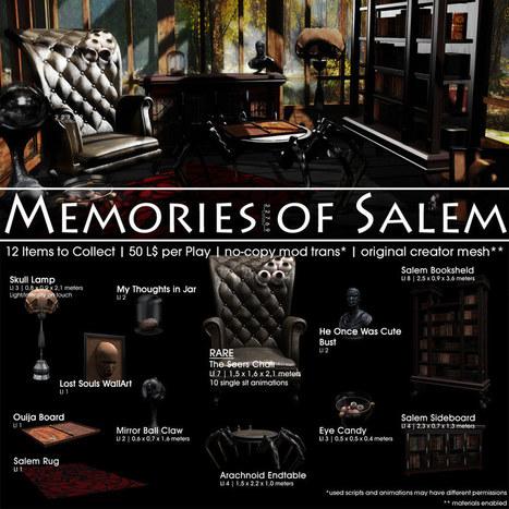 22769 ~ [bauwerk] Memories of Salem | 亗 Second Life Freebies Addiction & More 亗 | Scoop.it