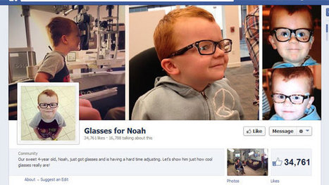 #Glasses for #Noah : Mom's Facebook plea goes #viral | News You Can Use - NO PINKSLIME | Scoop.it