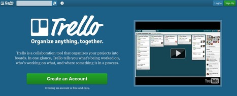 Trello : Organize anything together | Utilidades TIC para el aula | Scoop.it