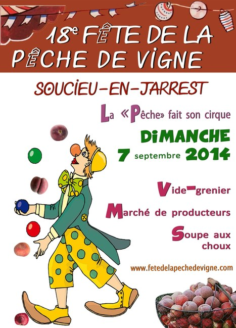 Fête de la pêche de vigne Sunday 7 Sept 2014 | France Festivals | Scoop.it