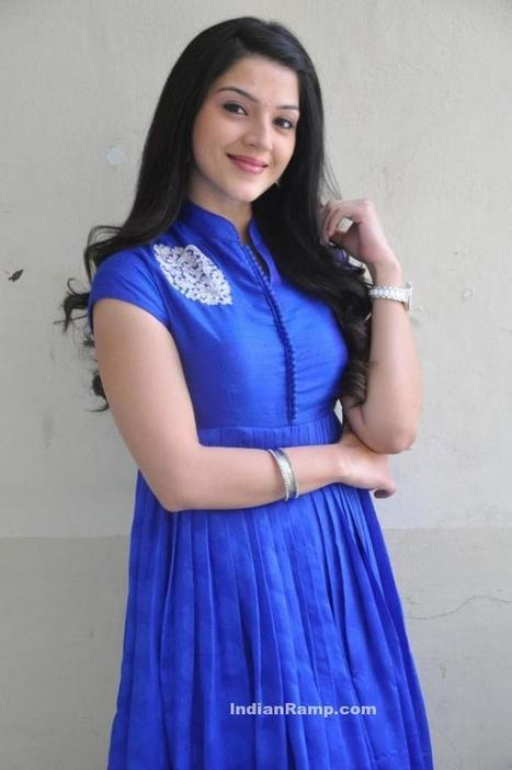 Tollywood Actress Mehrene Kaur Pirzada in high collar Neck Long Salwar Kameez, Actress, Indian Fashion, Tollywood | Indian Fashion Updates | Scoop.it