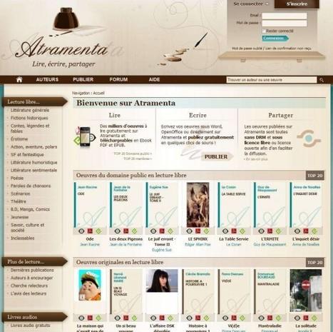 Des Ebooks gratuits en français sans DRM, Atramenta - Une tablette Android à gagner | Ballajack | Veille en médiathèque | Scoop.it