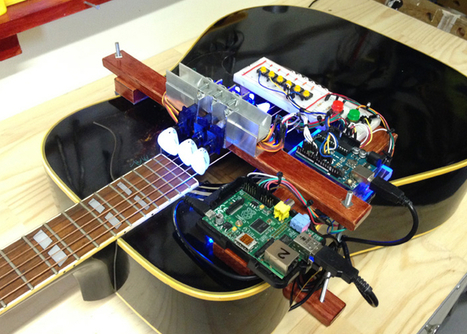 Raspberry Pi And Arduino Powered Guitar Plays Network Logs (video) - Geeky Gadgets | Arduino, Netduino, Rasperry Pi! | Scoop.it