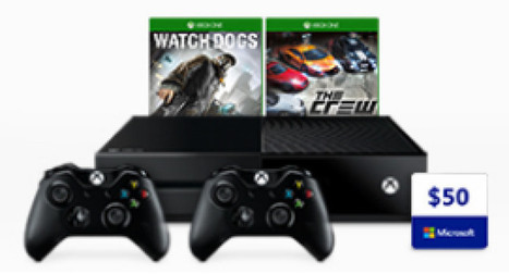 Microsoft offers free controller, game, and $50 credit on Xbox One bundles starting at $279 | Xbox - CompuSpace | Scoop.it