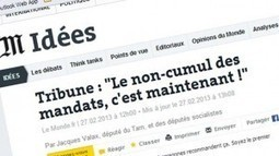 Point sur le projet de loi interdisant le cumul des mandats « Blog de Jacques Valax | #stopCumul | Scoop.it