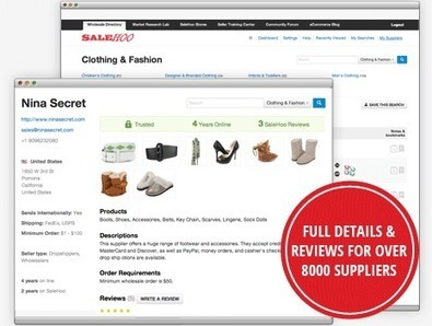 Salehoo Review: A Reliable Wholesale & Drop Shipping Source | Ways To Make Money Online | Scoop.it