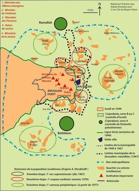 Jérusalem, une ville divisée chargée de symboles - Les clés du Moyen-Orient | ECS Géopolitique de l'Afrique et du Moyen-Orient | Scoop.it
