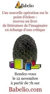 Critique : Babelio vous offre un livre | Soho et e-House : Vie numérique familiale | Scoop.it