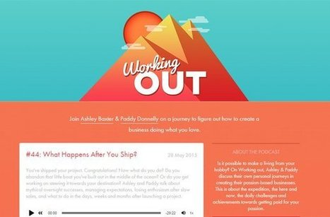 28 Graphic Design Podcast Homepages | elearning stuff | Scoop.it