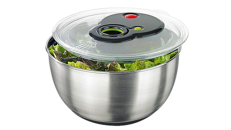 A Salad Spinner With a Turbo Button—Who Wants To Wait For Salad?   iOS Tips & Nice Ideas   Scoop.it