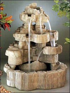 Large Rock Falls Fountain #5887F4 | outdoor fountains | Scoop.it