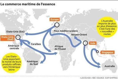Des répercussions importantes sur le transport maritime mondial et ... - Les Échos | LE TRANSPORT | Scoop.it
