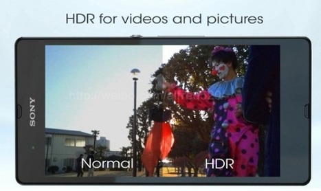 Sony Xperia Z.. leaked video shows water resistant body, HDR camera | Mobile IT | Scoop.it