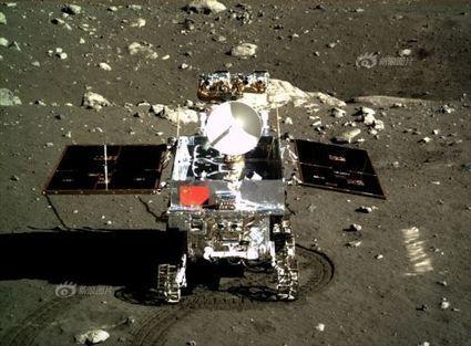 En bref : Yutu, le Lapin de jade, en difficulté sur la Lune | Science et astroscience | Scoop.it