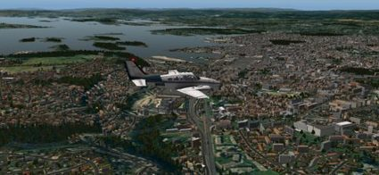 Flight Simulator News Brief: Taburet - Oslo Photorealistic for X-Plane ... | X-Plane News | Scoop.it