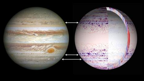 Simulating the jet streams and anticyclones of Jupiter and Saturn | Amazing Science | Scoop.it
